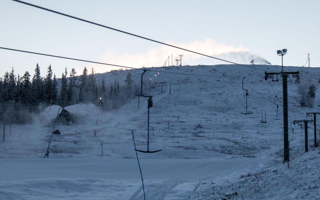 Mikä on lumitilanne tänään?